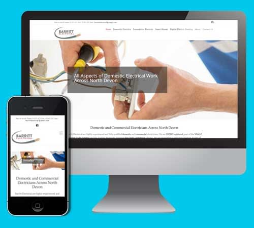 Website Designers North Devon