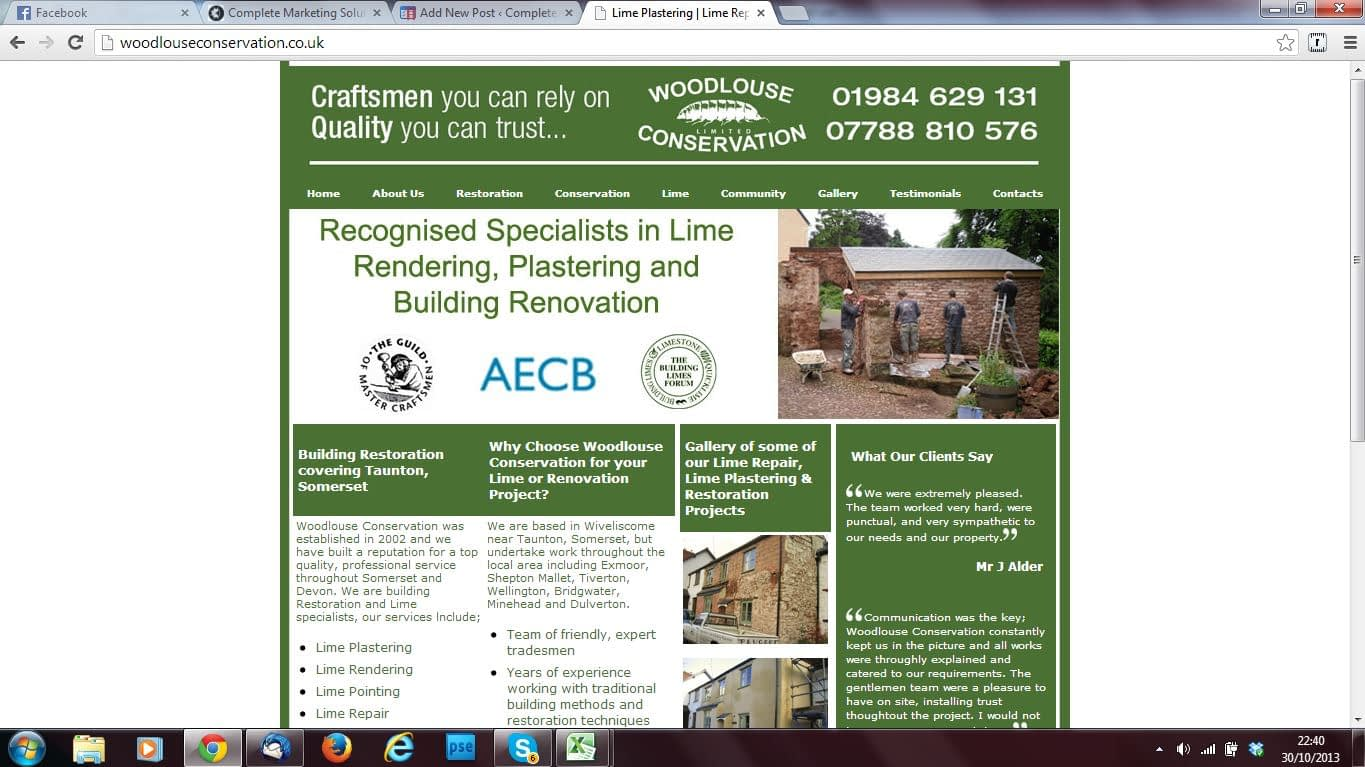 woodlouse conservation SEO and website redesign services by Complete Marketing Solutions, North Devon