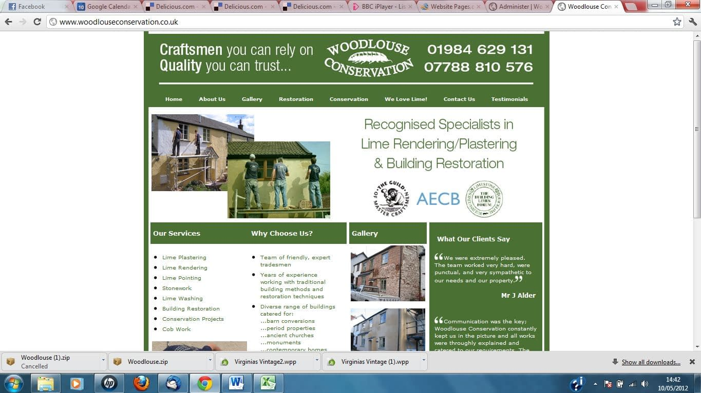 OLD website - new SEO and website redesign services by Complete Marketing Solutions, North Devon
